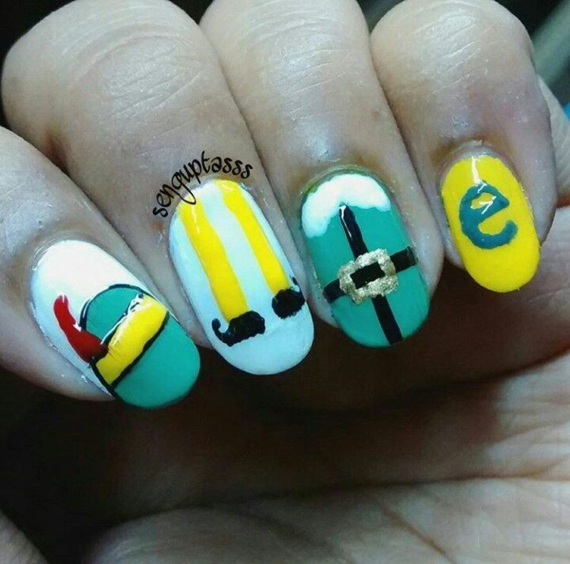 Elf nail art by Sohini  Sengupta