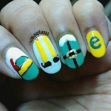 Elf nail art by Sohini  Sengupta