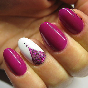 Ornament #2 nail art by specialle