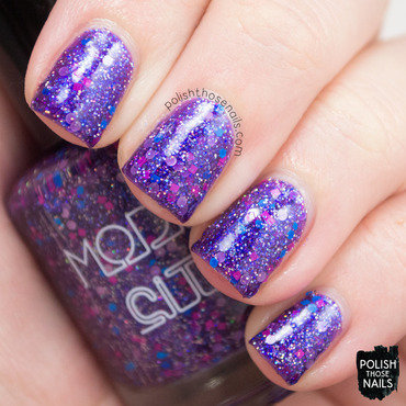 Model city polish itty bitty bikini purple glitter swatch 3 thumb370f