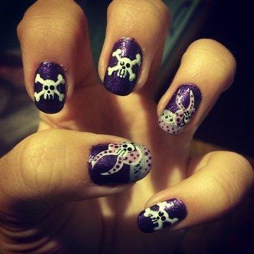 Skulzzzz nail art by 9Sh4DeSOfBl4ckBooD