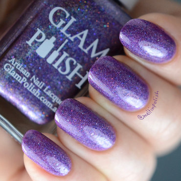 Glam Polish Aquarius Swatch by Meltin'polish