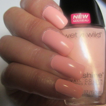 Wet n Wild Tickled Pink Swatch by NinaB