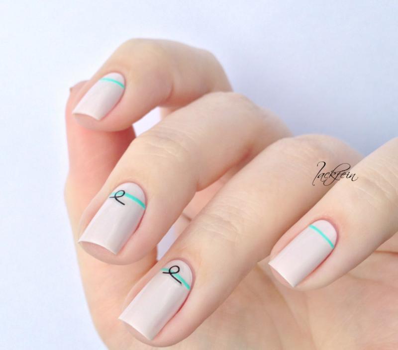 Urban Jungle nail art by lackfein