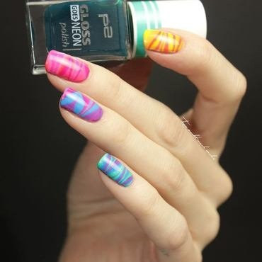 EasterNails nail art by Tine