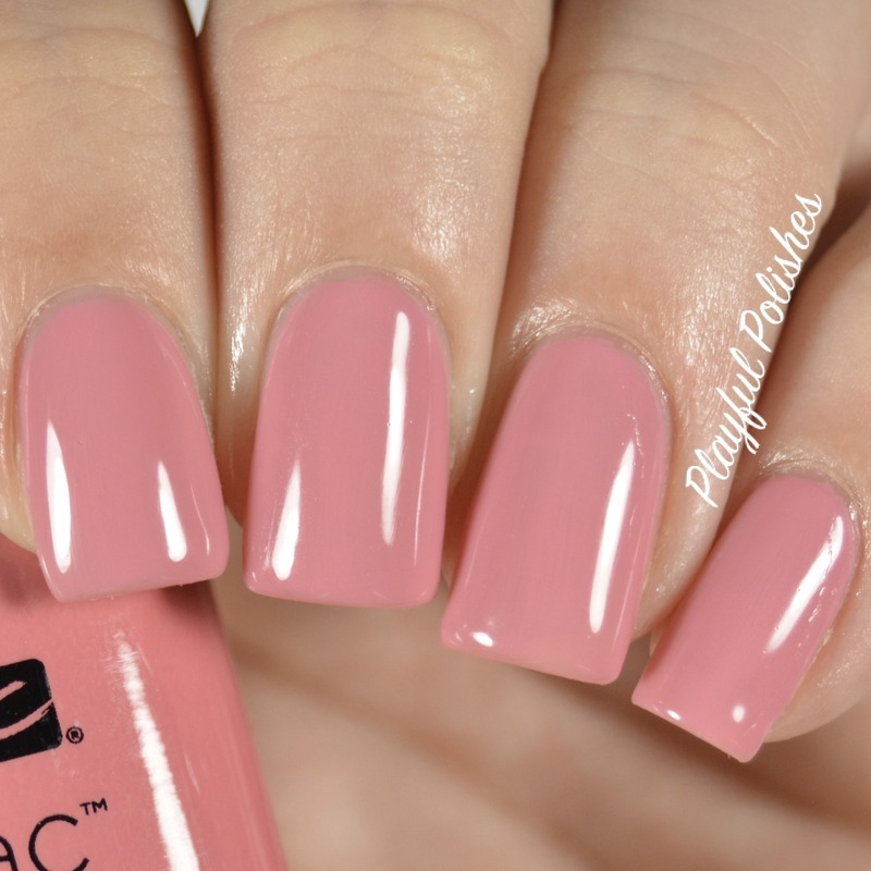 Cnd Shellac Rose Bud Swatch by Playful Polishes