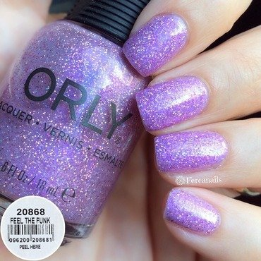 Orly Feel the Funk Swatch by Fercanails