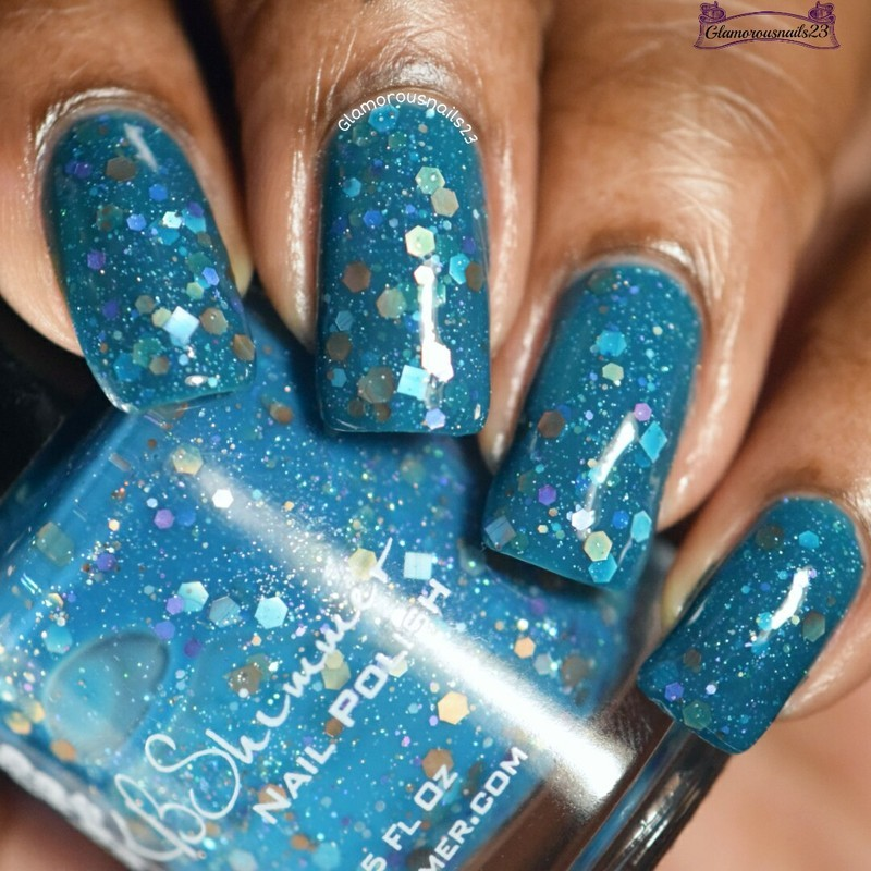 KBShimmer Vitamin Sea Swatch by glamorousnails23
