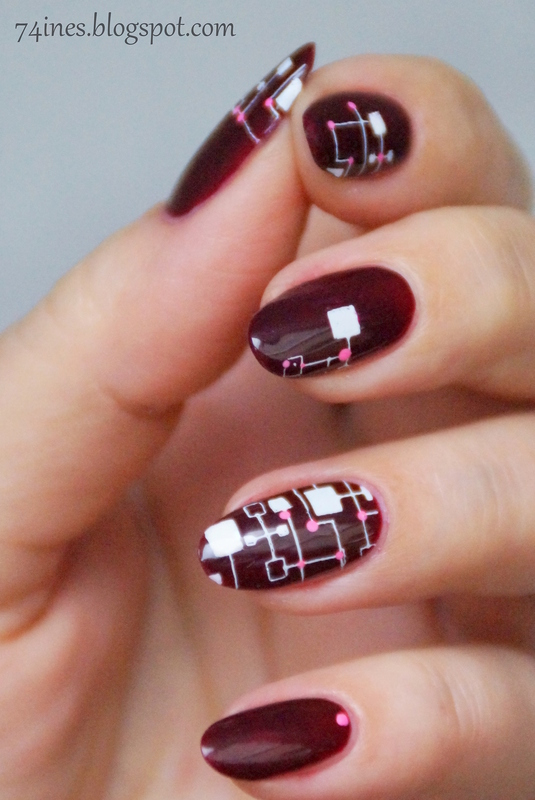 Soldier of fortune nail art by 74ines