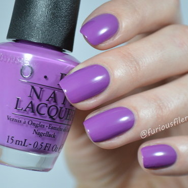 OPI I Manicure for Beads Swatch by Furious Filer