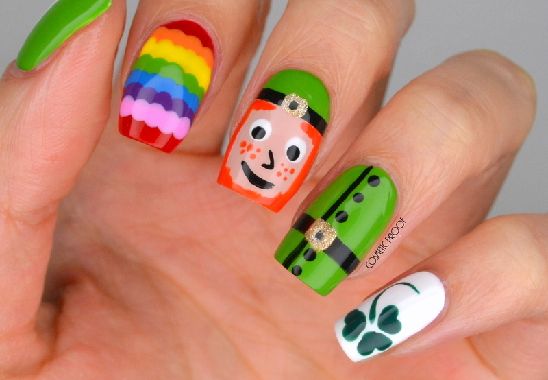 Happy St. Patrick's Day! nail art by Jayne