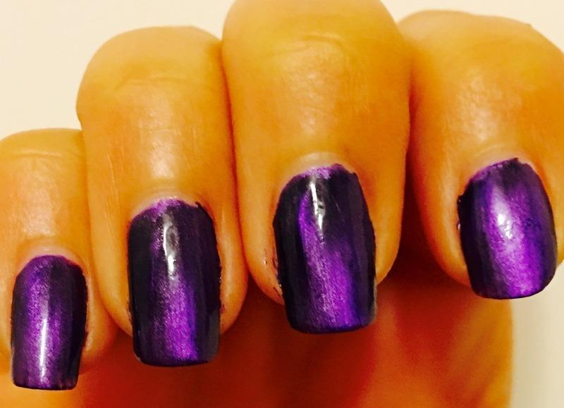 Dance Legend Magnetic Purple Swatch by Idreaminpolish