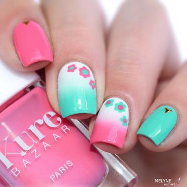 Spring nail design nail art by melyne nailart