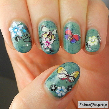 Happy Spring!  nail art by Kerry_Fingertips