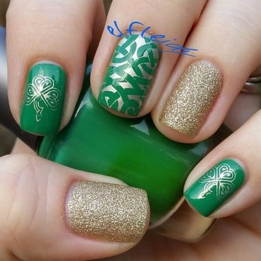 PAA Mani Monday 03-14-2016 nail art by Jenette Maitland-Tomblin