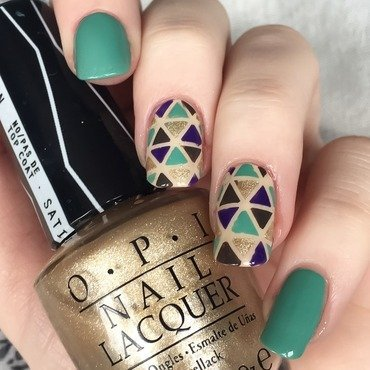Nordic Cut Out  nail art by allwaspolished
