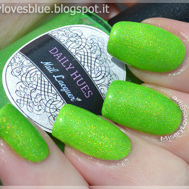 Daily Hues Nail Lacquer Fiona Swatch by MiseryLovesBlue