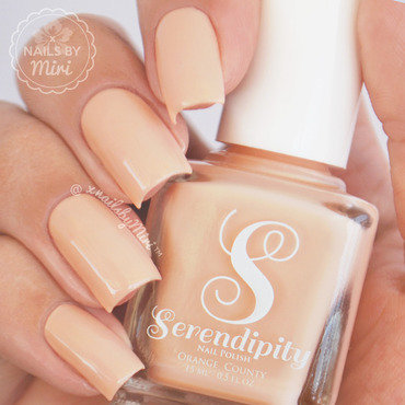 Serendipity Polish Peace Love and Sandy Feet Swatch by xNailsByMiri