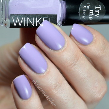 Winkel Light Lavender Swatch by Furious Filer