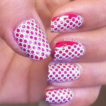 LACE DECAL NAILART nail art by Nailfame