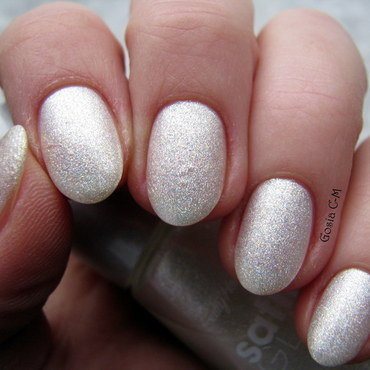 Sally Hansen Satin Glam 02 Crystalline Swatch by Nail Crazinesss