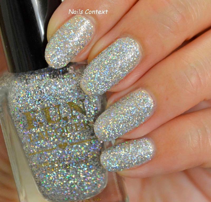 Fun Lacquer 24 Karat Diamond Swatch by NailsContext