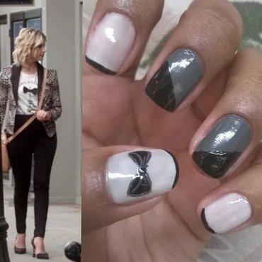 Hanna inspiration nails  nail art by Isabella