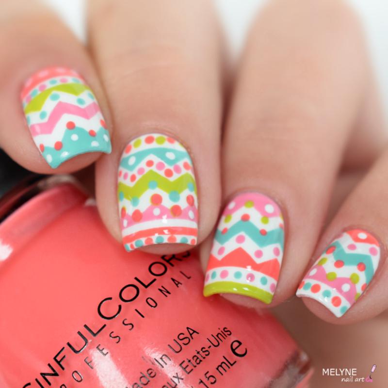 easter nails nail art by melyne nailart