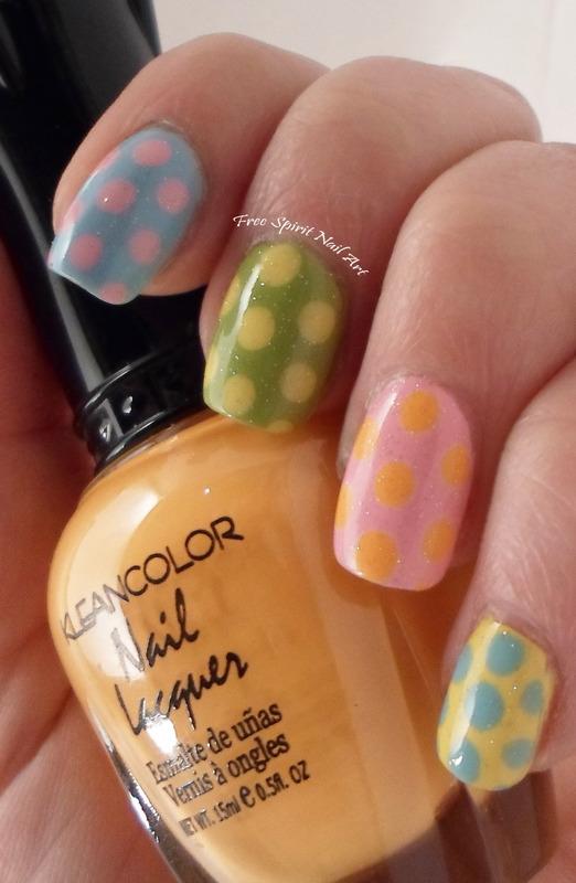 Easter 2016 nail art by Free_Spirit_Nail_Art