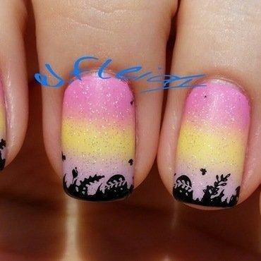 40 Great Nail Art Ideas- spring nail art by Jenette Maitland-Tomblin