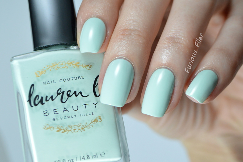 Lauren b My Private Cabana Swatch by Furious Filer