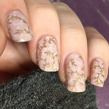 Hello Spring nail art by allwaspolished