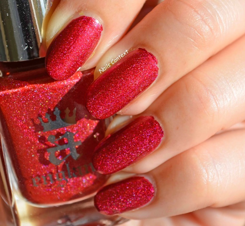 A England Rose Bower Swatch by NailsContext