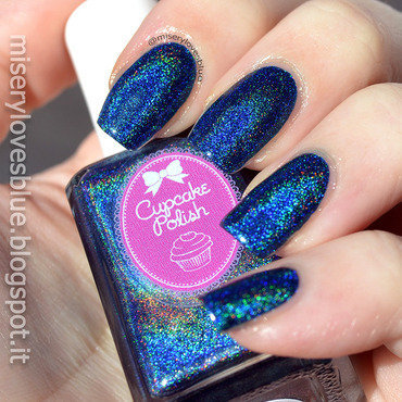 Cupcake Polish Bat-chelor Pad Swatch by MiseryLovesBlue