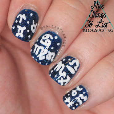 A2z challenge zodiac nail art thumb370f