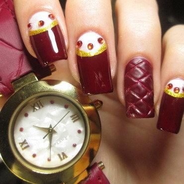 Watch inspired nail art nail art by NailArt_T