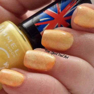 Disc Golf and Sunshine nail art by Free_Spirit_Nail_Art