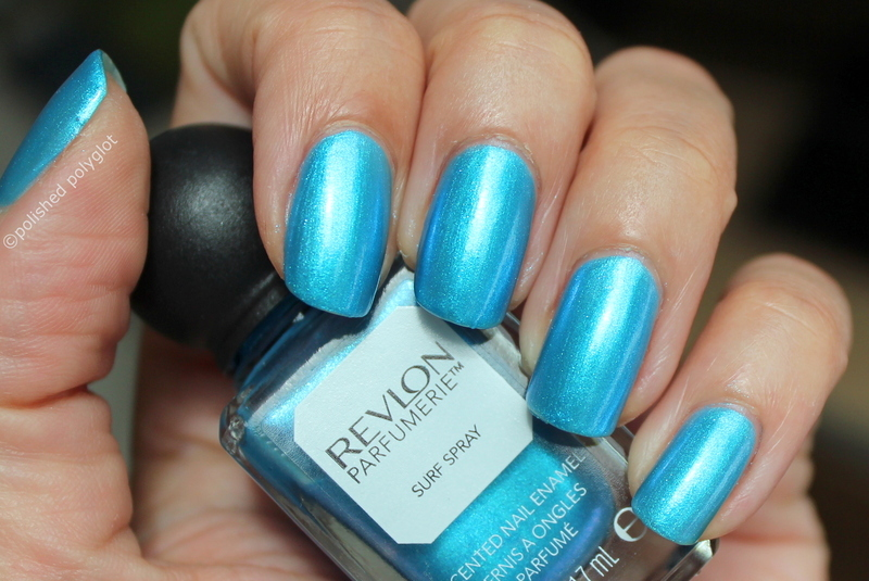 Revlon Parfumerie Surf Spray Swatch by Polished Polyglot