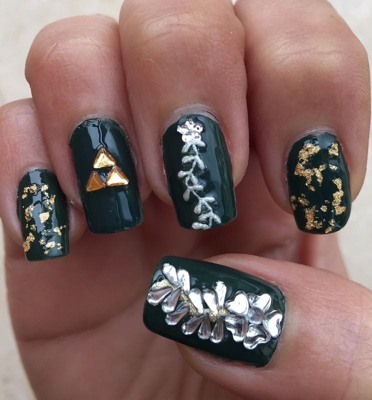 video game Nail Art and Swatches - Nailpolis: Museum of Nail Art
