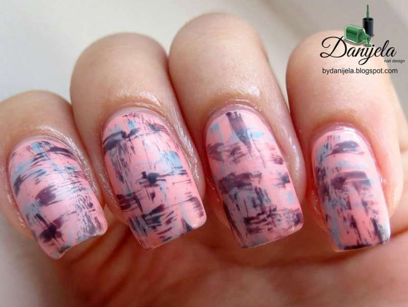 Street art inspired nails nail art by bydanijela