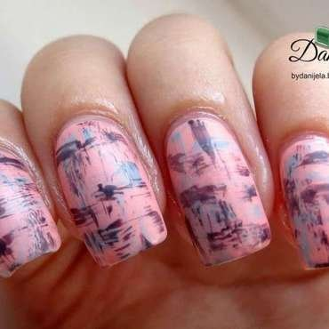 Street art inspired nails nail art by bydanijela