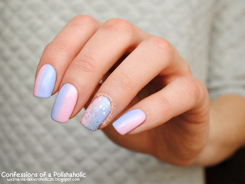Marshmallow nail art by Olaa - Nailpolis: Museum of Nail Art