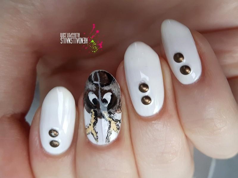 Sven nail art by Julia Friedel
