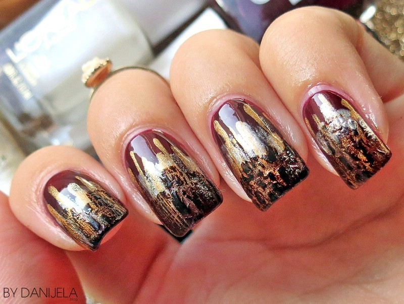 Trendy nail art (Fall 2015) nail art by bydanijela - Nailpolis ...