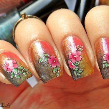 Chicano art inspired nail art nail art by bydanijela