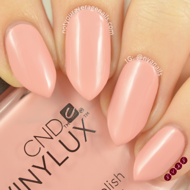 CND Pink Pursuit Swatch by Becca (nyanails)