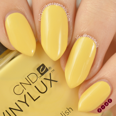 CND Honey Darlin' Swatch by Becca (nyanails)
