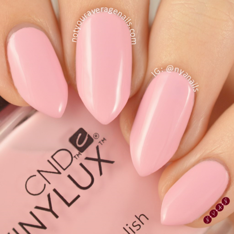 CND Be Demure Swatch by Becca (nyanails)