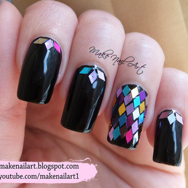 Diamond 20shape 20glitter 20placement 20nail 20art 20design 20tutorial thumb370f