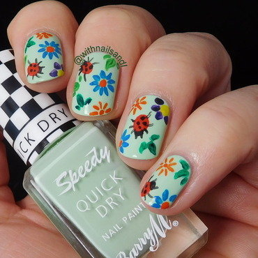 Latitude nail art by WithnailsandI